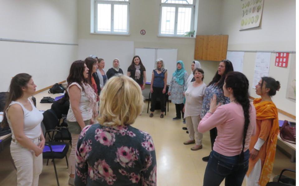 WeltkulturFrauenchor_Probe1(c)weltkulturschule