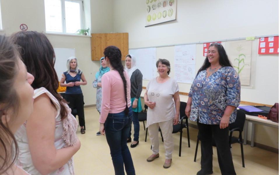WeltkulturFrauenchor_Probe2(c)weltkulturschule