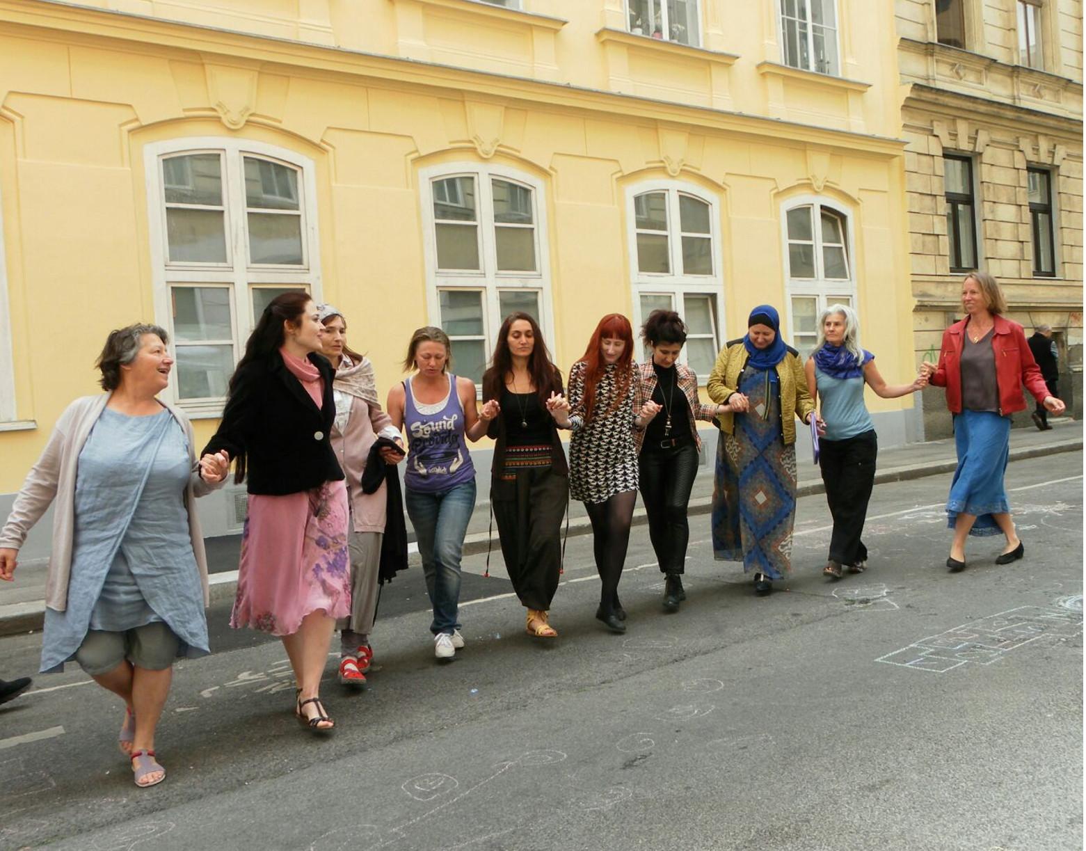 Das Dorf Straßenfest